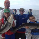 Garon Mailman from Wicked Tuna and his kids use the Fish Bomb